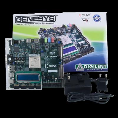 Genesys:Virtex-5 FPGA开发板