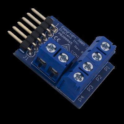 PmodCON1:电线接头连接器