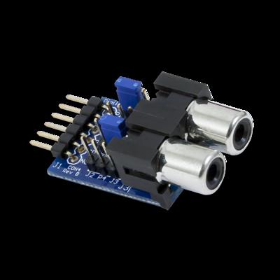 PmodCON4:RCA音频插孔