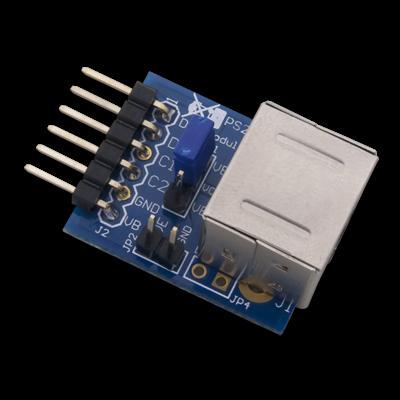 PmodPS2:键盘鼠标连接器
