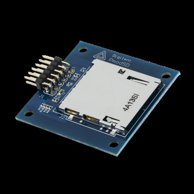 PmodSD:全尺寸SD卡槽模块