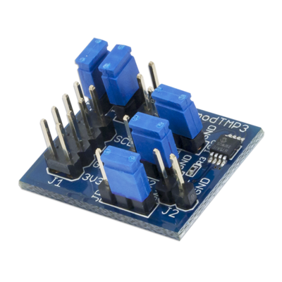 PmodTMP3:温度传感器