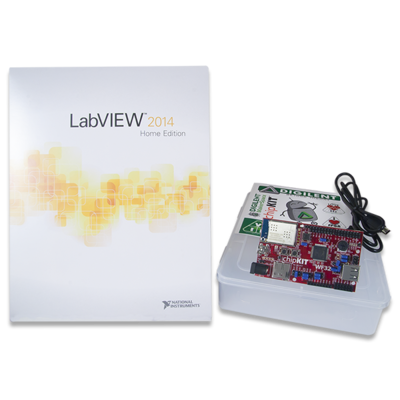LabVIEW for chipKIT WF32 DIGILENT套件
