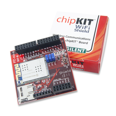 chipKIT WiFi Shield- Add-on Board
