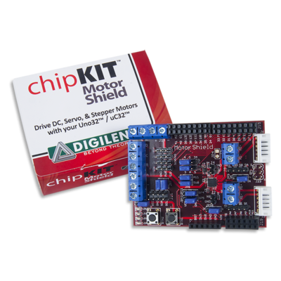 chipKIT Motor Shield Add-on Board