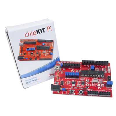 chipKIT Pi, Add-on board for Raspberry Pi