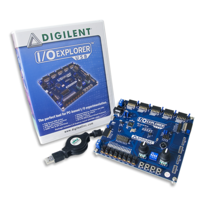 IO Explorer USB- Based on AVR Microcontrollers