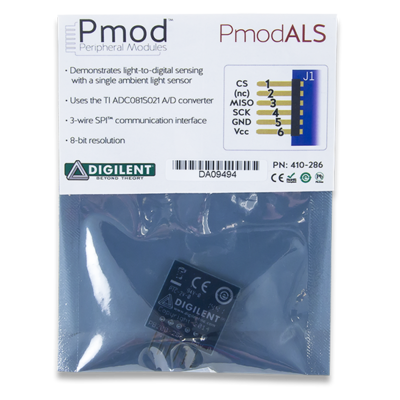 PmodALS:环境光传感器