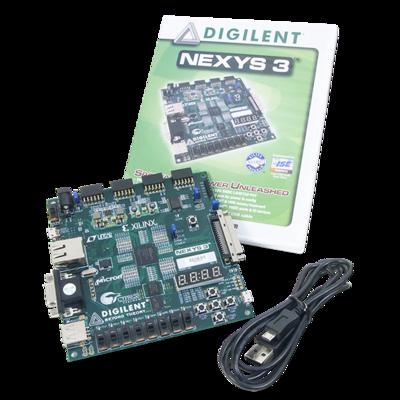 Nexys 3 Spartan-6 FPGA训练板