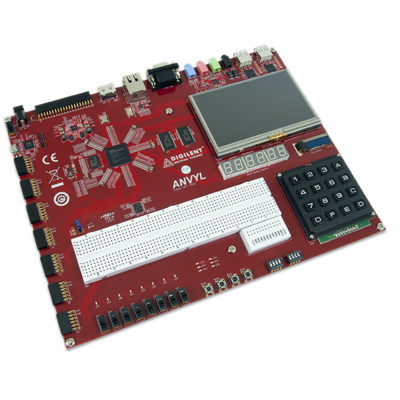 Anvyl Spartan-6 FPGA训练板
