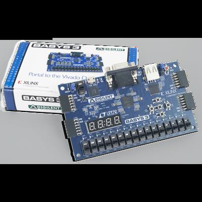 Basys 3:Artix-7 FPGA训练板