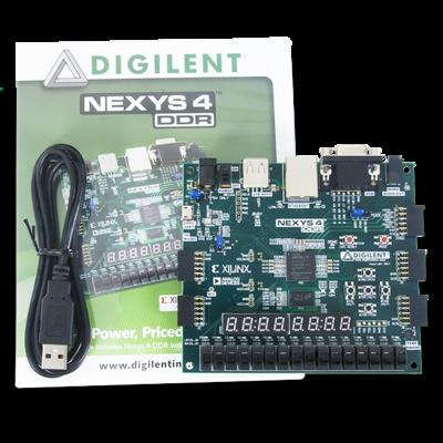 Nexys 4 DDR Artix-7 FPGA进阶级智能互联开发板
