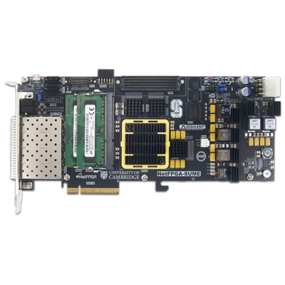 NetFPGA-SUME Virtex-7 FPGA软件定义网络SDN智能互联系统级开发平台