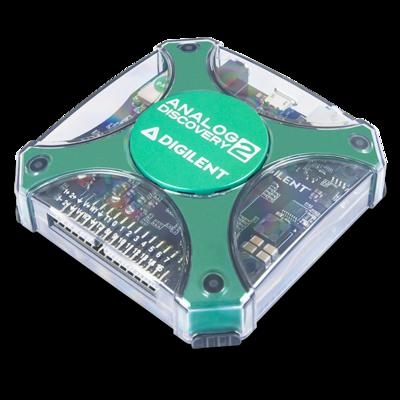 Analog Discovery 2:100MSPS USB示波器、逻辑分析仪及可变电源