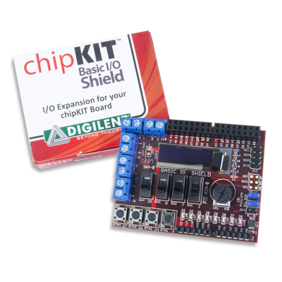 chipKIT Basic I/O Shield