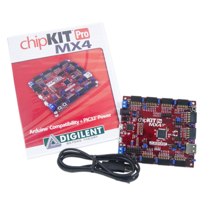 chipKIT Pro MX4 - Embedded Systems Trainer Board