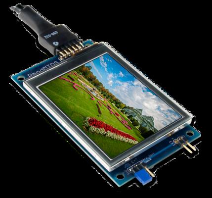 PmodMTDS:多点触控显示屏