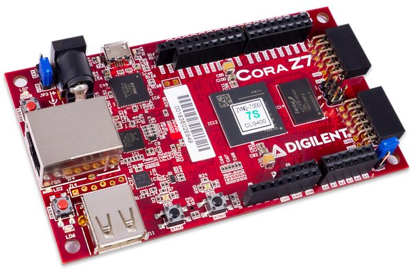 Cora Z7-07S: Zynq-7000  ARM/FPGA SoC Development